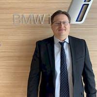 Dmytro  Shapovalov at BMW of Charlottesville