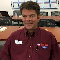 David Byrne at Access Ford Lincoln of Corpus Christi - Service Center