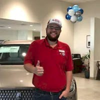 Colton Bausch at Access Ford Lincoln of Corpus Christi