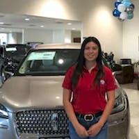 Diana Castillo at Access Ford Lincoln of Corpus Christi