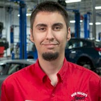 Nick Radoslavov at Sport Mazda - Service Center