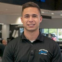 Jacob Barone at Sport Mazda