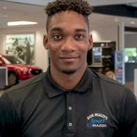 Alex Stinvil at Sport Mazda