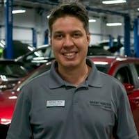 Luis Resende at Sport Mazda - Service Center