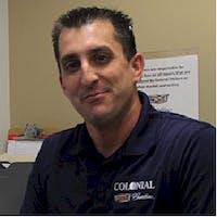 Pete Cascio at Colonial Cadillac - Service Center