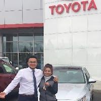 Julio Guadamuz at Royal Moore Toyota