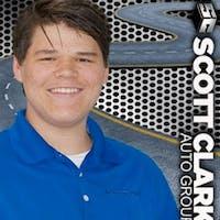 Branin Cline at Scott Clark Honda