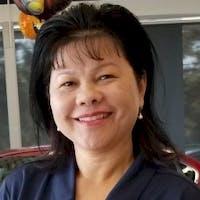 Kim Nam at Halleen Kia