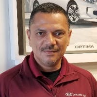 Arnaldo Rivera at Halleen Kia