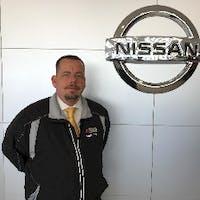 Aaron Fowler at Hubler Nissan