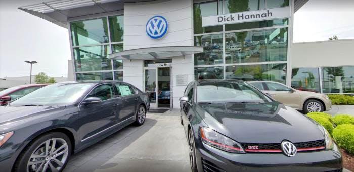Dick Hannah Volkswagen, Vancouver, WA, 98662