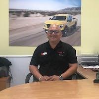 Norbert Rivera at Bruce Bennett Nissan