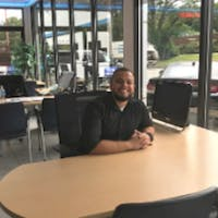 Rafael Pereira at Colonial West Chevrolet of Fitchburg