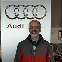 Richard Candela at Audi Stratham