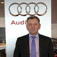 Mark Ames at Audi Stratham