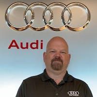 Chuck Shaw at Audi Stratham - Service Center