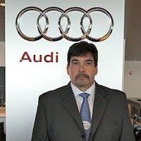 Frank  McLaughlin at Audi Stratham