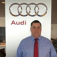 David Perry at Audi Stratham