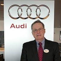 Wayne Lucier at Audi Stratham
