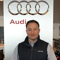 Ethan Brown at Audi Stratham - Service Center