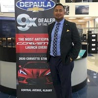 Anthony Lokie at DePaula Chevrolet