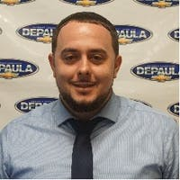 Michael Donadio at DePaula Chevrolet