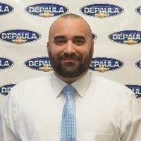 Anthony Gallo at DePaula Chevrolet
