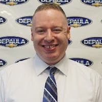 Brendan McLaughlin at DePaula Chevrolet