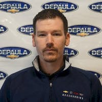 Bryan Sarafin at DePaula Chevrolet
