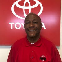 Alton  Vinson at Hubert Vester Toyota
