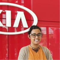 Cristina Contreras at Lehighton Kia