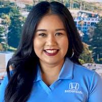Claudia Coronado at DCH Honda of Oxnard