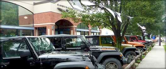 Jeep Chrysler Dodge City, Greenwich, CT, 06830