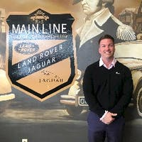 Adam Forland at Land Rover Jaguar Main Line