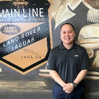 Brian Pham at Land Rover Jaguar Main Line