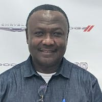 Vincent  Azong at Thompson Chrysler Dodge Jeep Ram of Baltimore