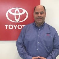 John Contreras at Curry Toyota - Cortlandt