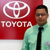 Anthony Fernandez at Curry Toyota - Cortlandt