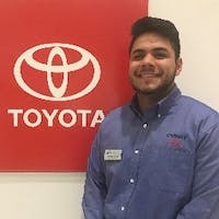 Hamlet  Perez at Curry Toyota - Cortlandt