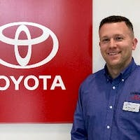 Jim Wolynetz at Curry Toyota - Cortlandt