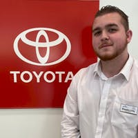 Brandon Crilly at Curry Toyota - Cortlandt