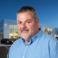 Mike Diamond at Erinwood Ford