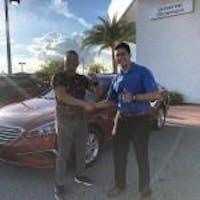 Justin Salazar at Universal Hyundai