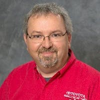 Neal Shryock at Fort's Toyota of Pekin