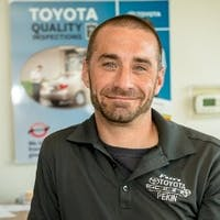 Brandon Calvert at Fort's Toyota of Pekin - Service Center