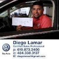 Diego Lamar at Jeff D'Ambrosio Auto Group