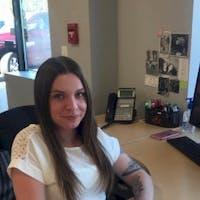 Jessica Willoughby at Bourne's Auto Center
