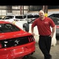 Rich Schiffer at Bourne's Auto Center