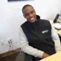Trevon Hubbard at Bourne's Auto Center
