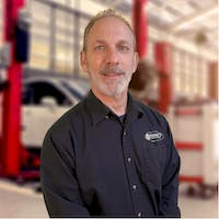 Paul  Sandler at Bourne's Auto Center